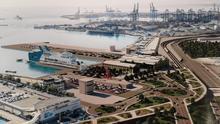 Imatge virtual d la futura terminal de creuers.