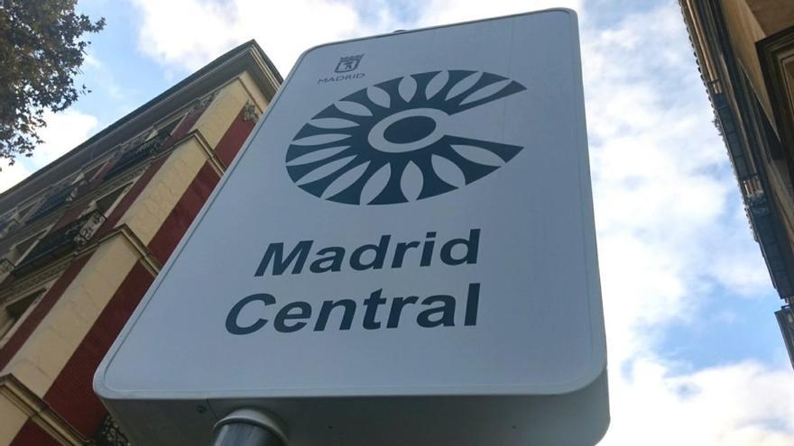 Acceso al área de Madrid Central   SOMOS CHAMBERÍ
