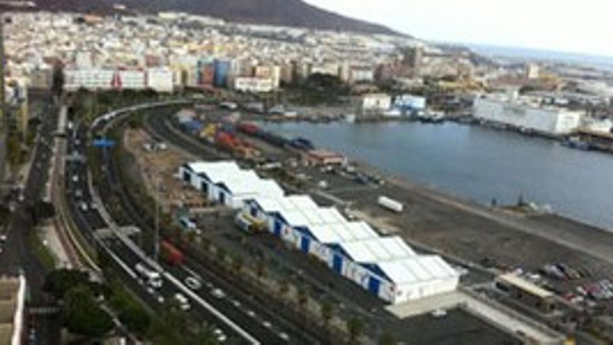 Muelle del Sanapú.