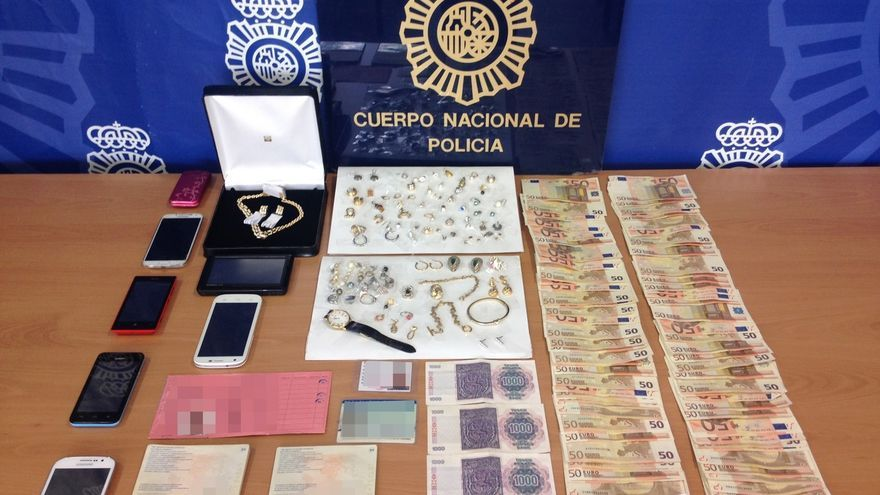 Detenidas diez personas implicadas en al menos 25 robos en viviendas de la costa mediterránea peninsular y Baleares