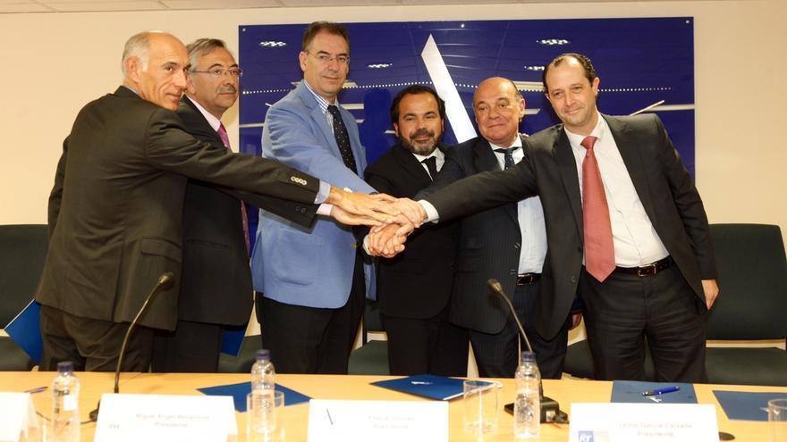 Seis asociaciones empresariales constituyen en Vitoria el primer grupo de compra agrupada de energía en baja tensión