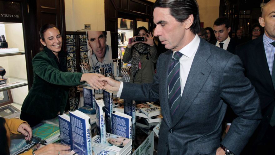 """Aznar advierte de que CiU y ERC """"ya han pactado la secesión"""" en Cataluña"""