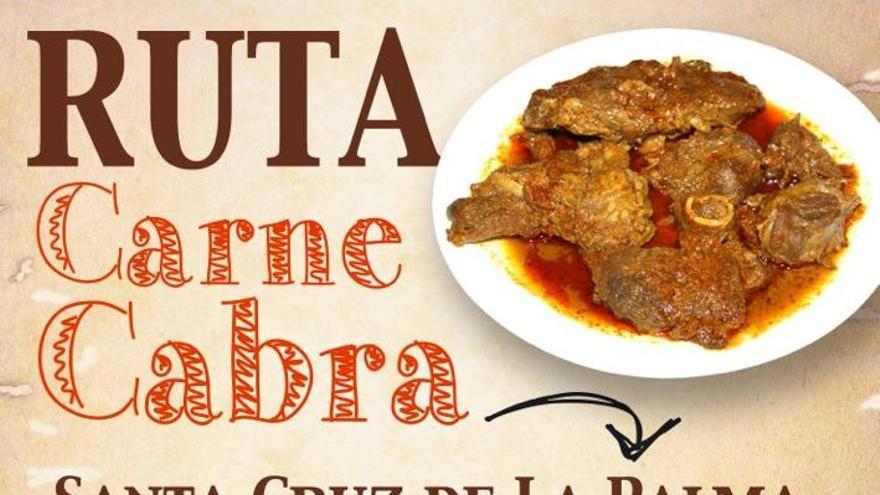 Cartel de la segunda edición de la 'Ruta de la Carne de Cabra'.