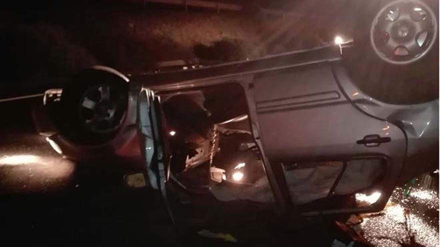 Accidente en  en el término municipal de Teguise (Lanzarote).