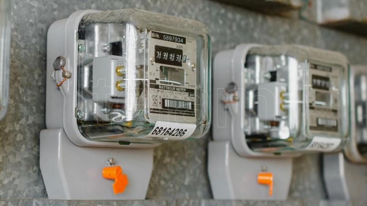 Medidores de electricidad.