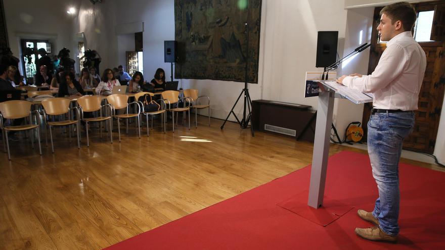Nacho Hernando en rueda de prensa / JCCM