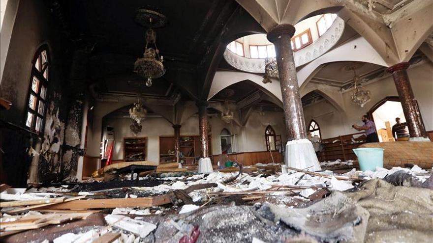 Muertos 23 supuestos miembros del EI en combates con fuerzas libias en Sirte