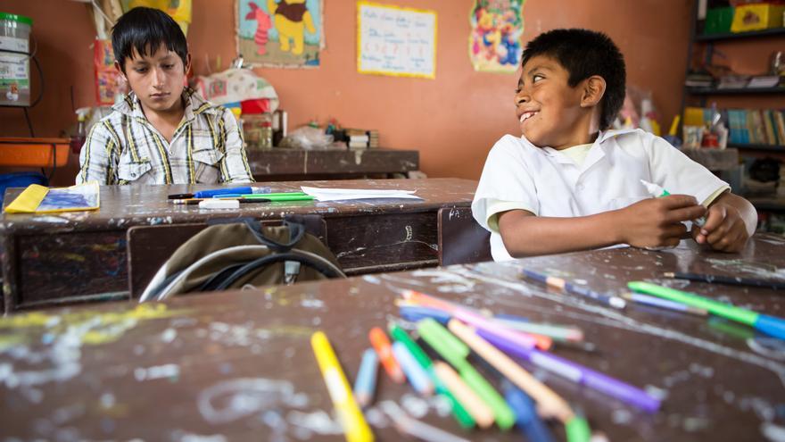 En el mundo hay 124 millones de niños, niñas y jóvenes que no empezarán el colegio este curso.