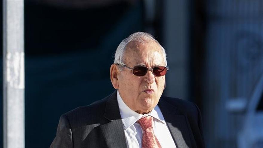 El extesorero de Alianza Popular Sanchís pide absolución porque no ocultó dinero de Bárcenas