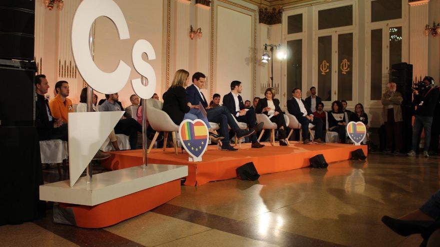 Ciudadanos celebró un acto este martes en Albacete