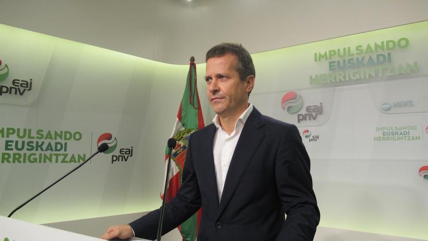 """El PNV reprocha a Sánchez su discurso """"agresivo"""" con Cataluña y le acusa de hacer """"electoralismo"""" con el 155"""