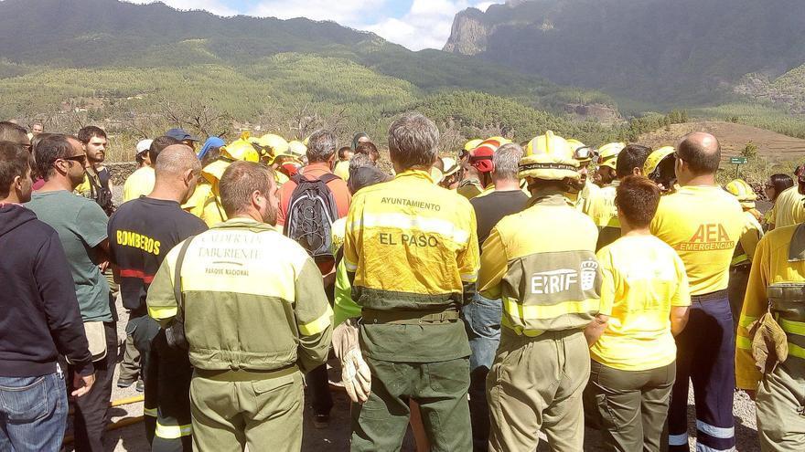 El curso tuvo lugar en el Parque Nacional de La Caldera Taburtiente.
