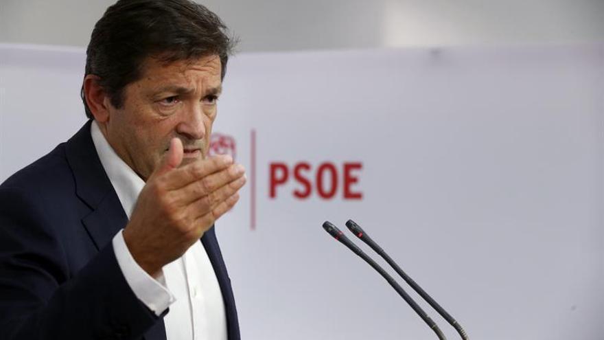 """Javier Fernández: """"Con los independentistas no tenemos nada que hablar"""""""