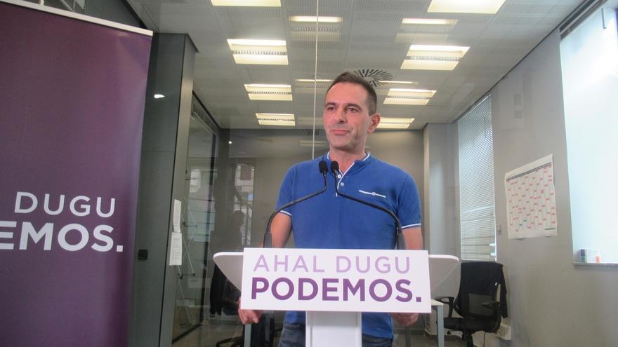"""Podemos Euskadi asume con """"normalidad"""" a Más País pero """"difícilmente"""" entiende que solo se presente en Vizcaya"""