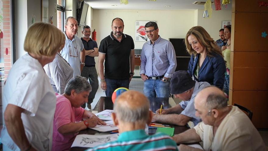 Jorge Rodríguez ha visitado el centro de salud psiquiátrico
