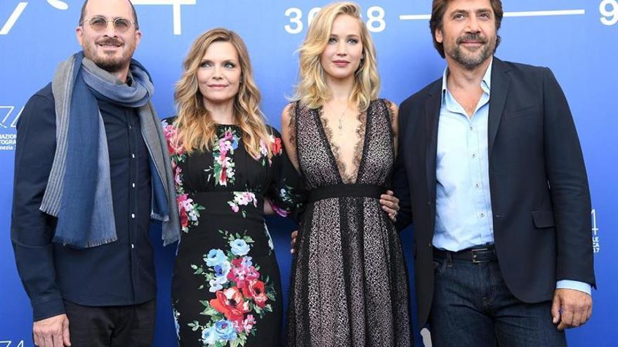"""Aronofsky crea polémica en Venecia con """"Mother!"""", con una brillante Lawrence"""