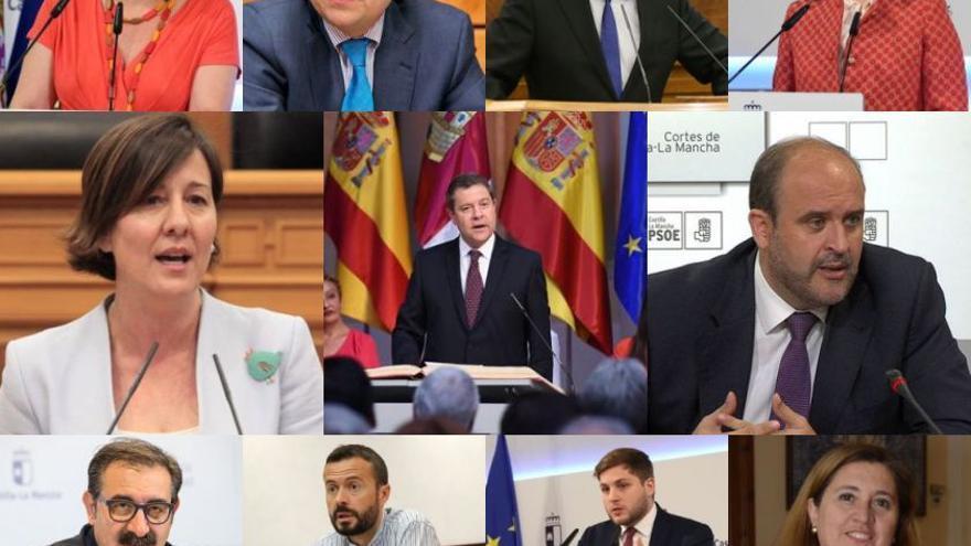 Gobierno de Castilla-La Mancha Julio 2019