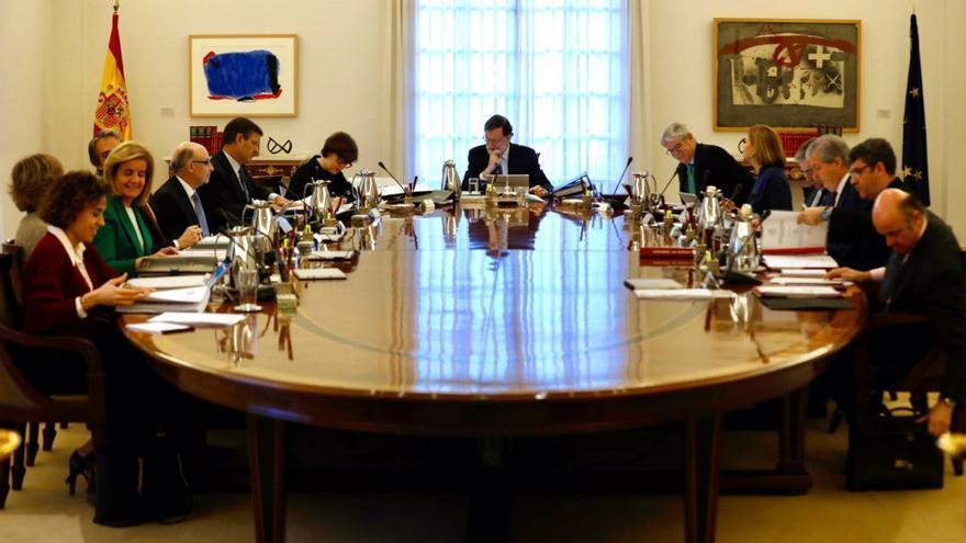 Primer consejo de ministros tras las elecciones autonómicas catalanas del 21D.