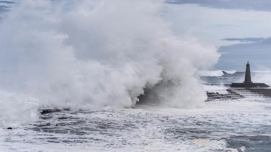 Finaliza la alerta por fenómenos costeros en Canarias