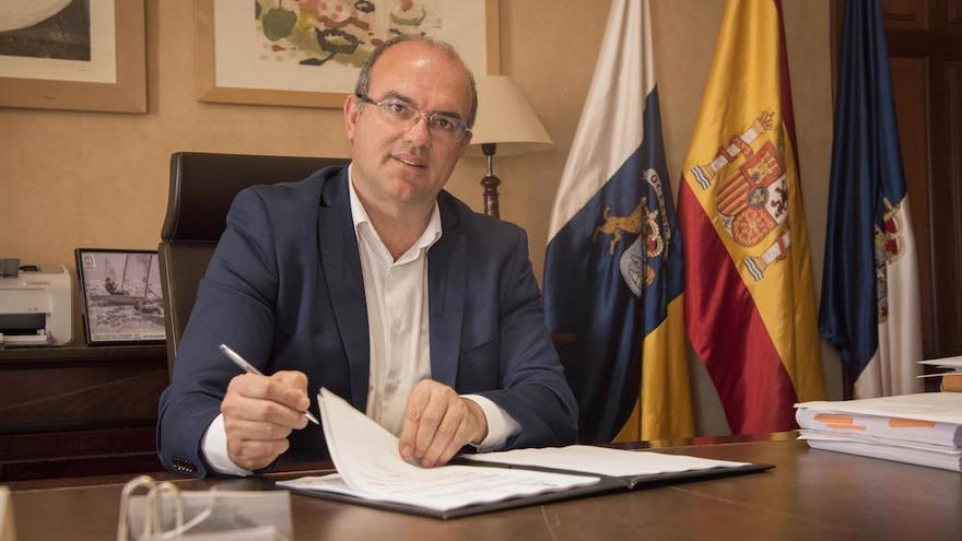 Anselmo Pestana es presidente del Cabildo de La Palma.