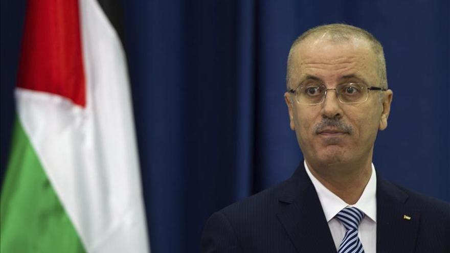 La policía israelí vuele a detener el convoy del primer ministro palestino