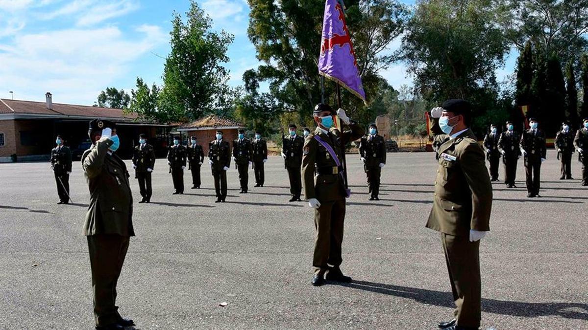Militares de la base de Cerro Muriano