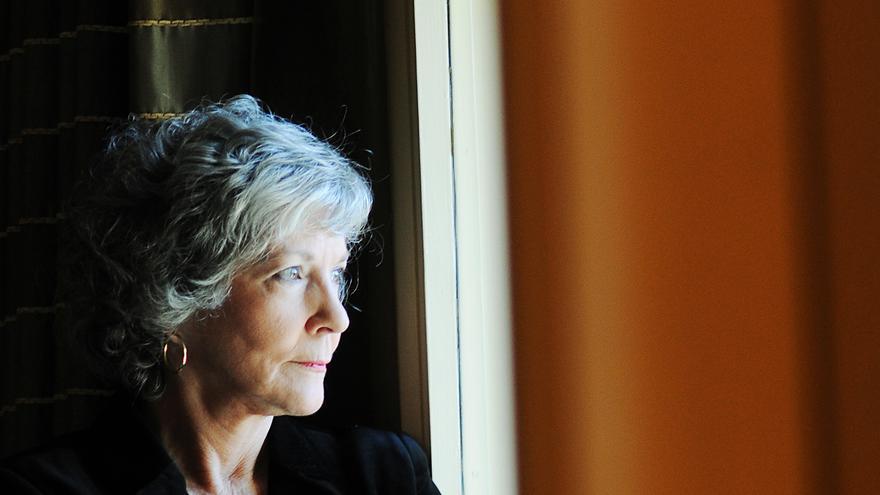 La escritora Sue Grafton, ayer en Barcelona // Foto: © Ivan Giménez - Tusquets Editores