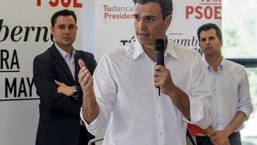 """Sánchez: """"No somos la izquierda de la protesta, sino de la propuesta"""""""