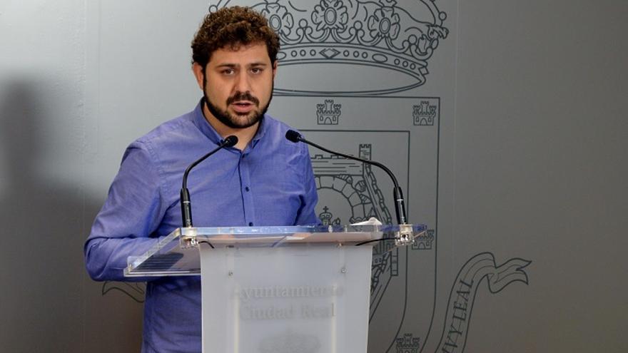 Jorge Fernández, edil de Ganemos Ciudad Real