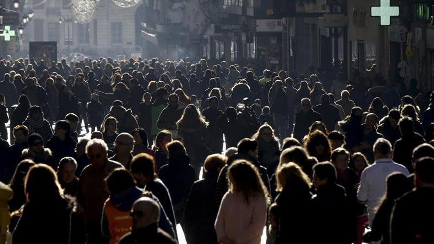 El crecimiento de la población se consolida y supera ya los 46,5 millones