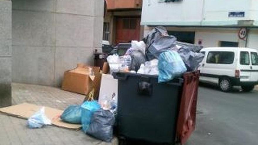 De acumulación de basura en LPGC #4