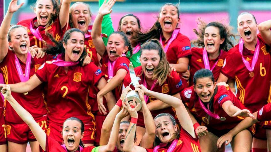 Selección española femenina sub-19