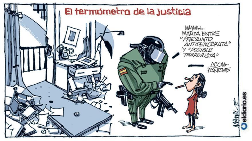 El termómetro de la justicia