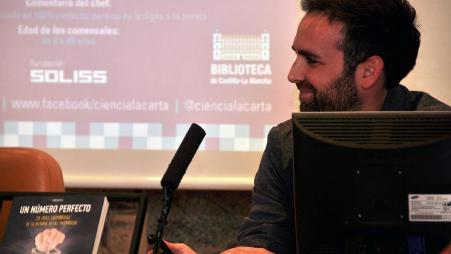 El matemático y divulgador científico Santi G. Cremades / Ciencia a la Carta