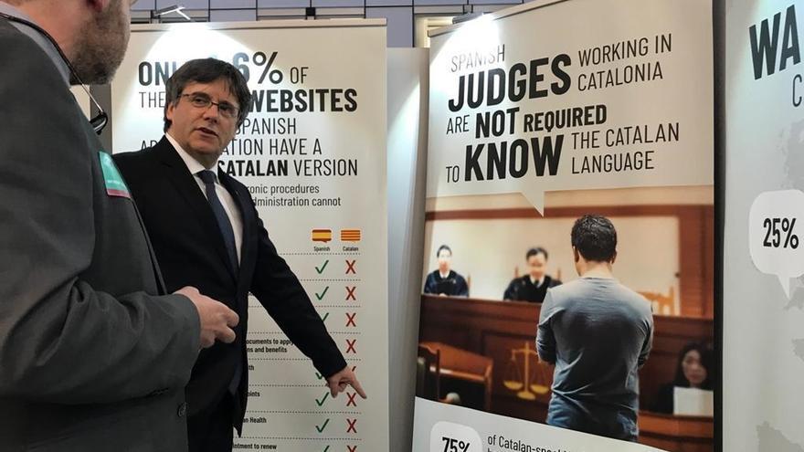 """Puigdemont dice que volverá a Cataluña si es eurodiputado porque tendría """"inmunidad"""" en toda la UE"""