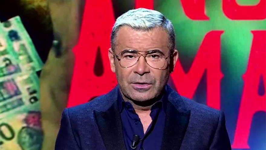 Jorge Javier Vázquez, en el plató de 'Sábado Deluxe'