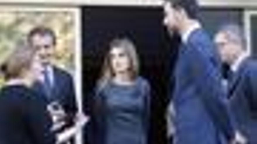Capilla ardiente de Franciso Ayala Zapatero Príncipes de Asturias