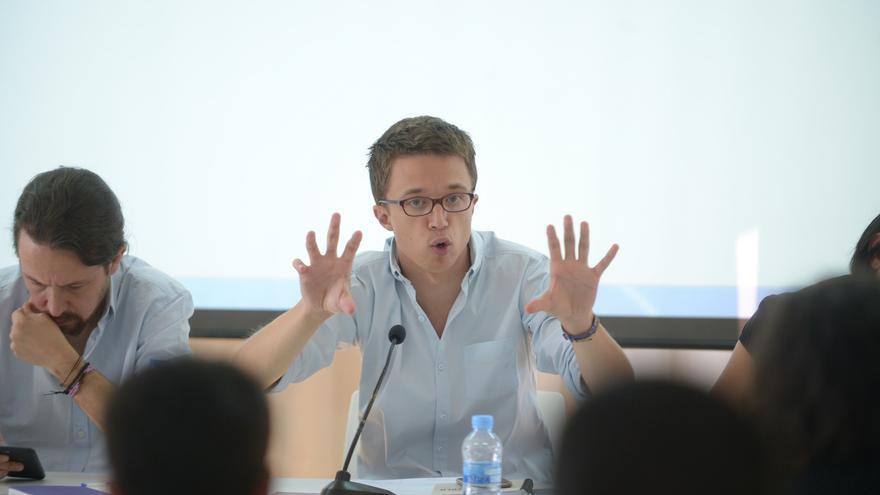 Íñigo Errejón, durante el Consejo Ciudadano de Podemos.