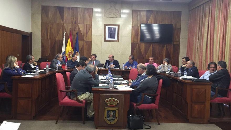 Reunión de la Mesa Insular de la Energía.