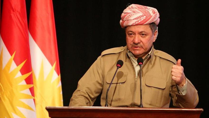 """El presidente del Kurdistán iraquí dice que el pacto Sykes-Picot """"ha muerto"""""""