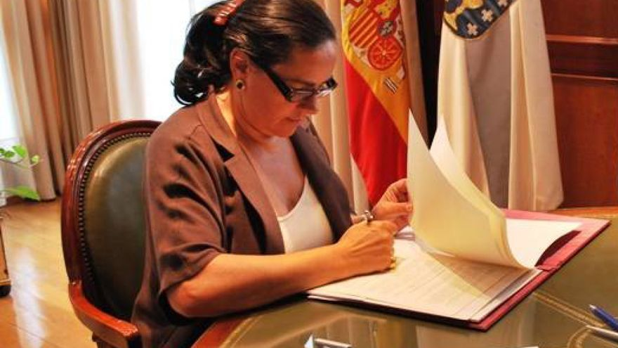 Faraldo, en una imagen de archivo de su etapa como alcaldesa
