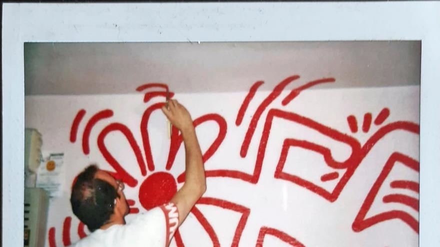 """Un mural """"casi secreto"""" de Keith Haring en Barcelona se salvará de la piqueta"""