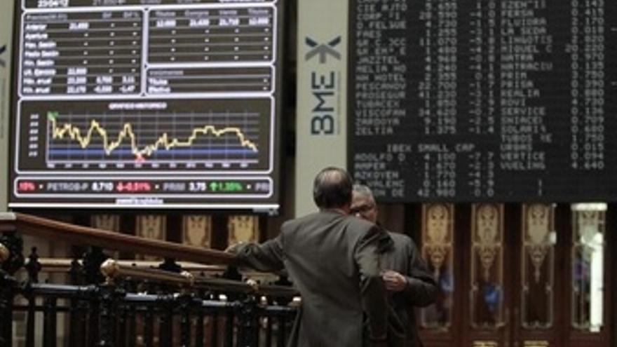 El Ibex recibe en verde el rescate a la banca española