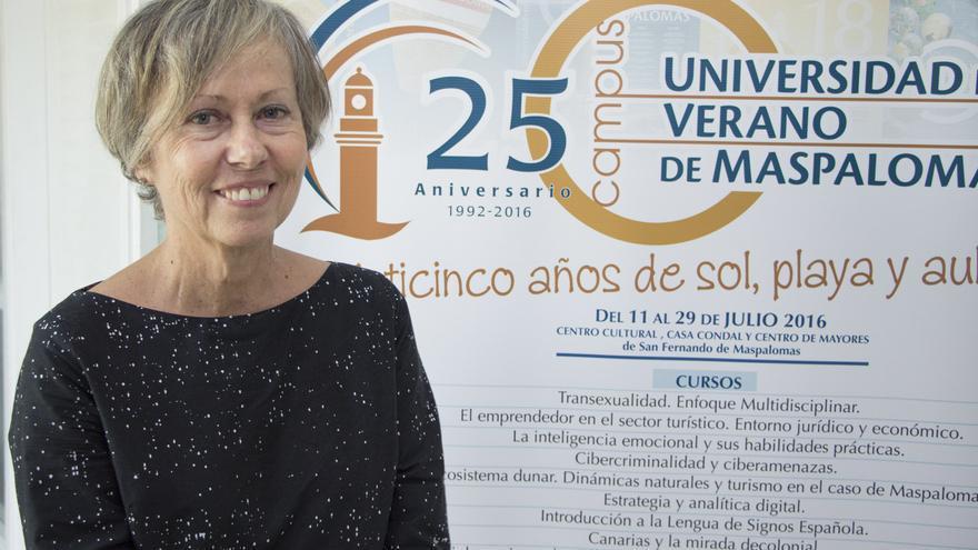La arquitecta y profesora de la ULPGC, Flora Pescador