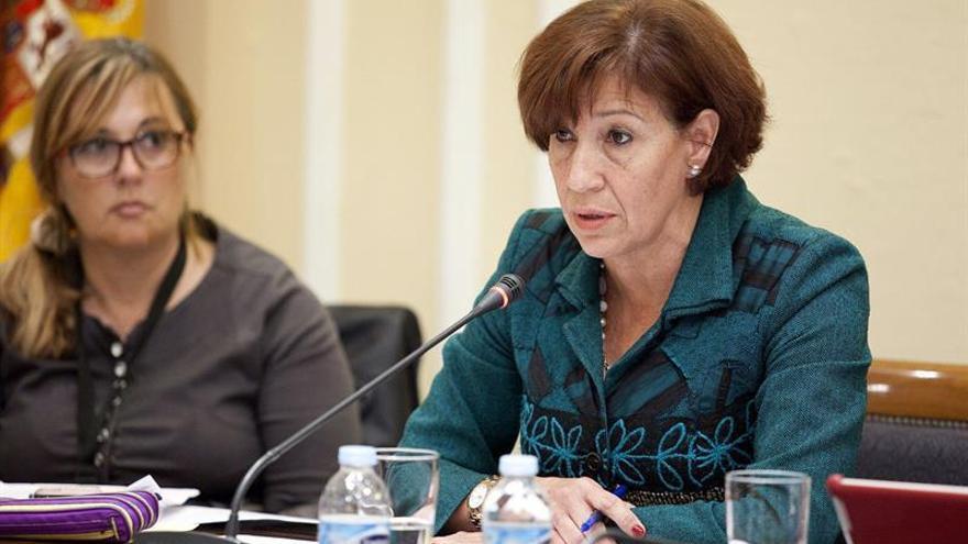 La consejera de Cultura, Deportes, Políticas Sociales y Vivienda del Gobierno de Canarias, Inés Rojas.