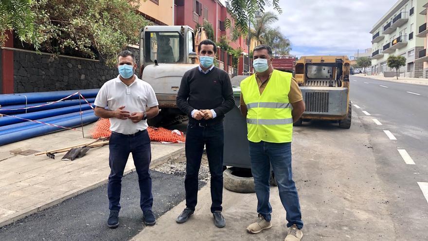 Breña Baja mejora la red de abastecimiento de agua en diversos puntos del municipio