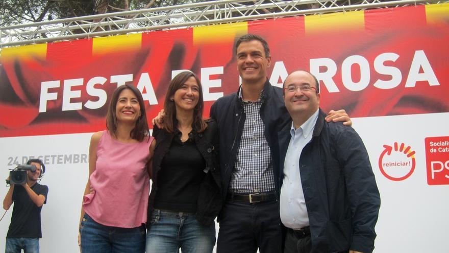 """Sánchez llama a Podemos y C's al cambio y rechaza las presiones internas: """"No es no"""""""