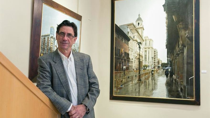Jesús Monge, el pintor de ciudades y sensaciones, vuelve con nuevos retos