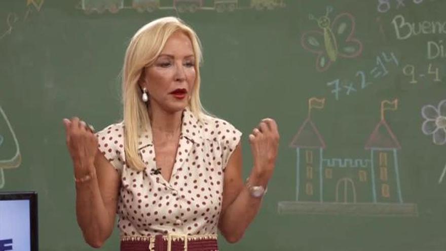 """Carmen Lomana, a los niños en Telemadrid: de Iglesias y su """"cerco"""" de sudor a Casado, """"pijo, lavadito y bien"""""""