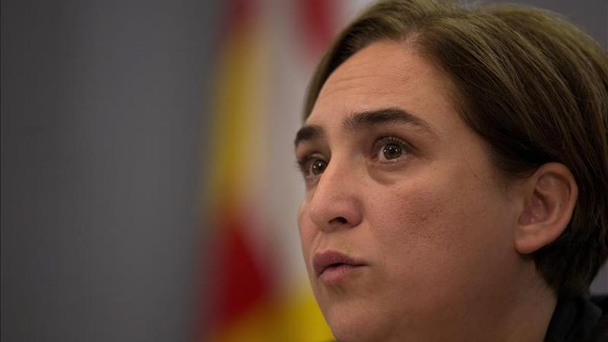 Ada Colau pide alianzas para posibilitar un referéndum en Cataluña